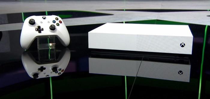 Microsoft представила Xbox One без привода и подписку Xbox Games Pass Ultimate