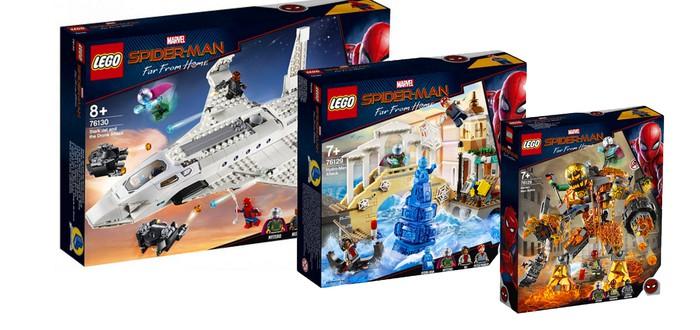"LEGO представила три набора по фильму ""Человек-паук: Вдали от дома"""