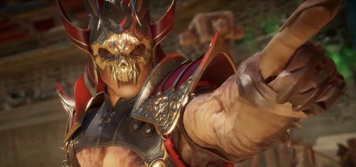 Новый трейлер Mortal Kombat 11 посвящен Шао Кану
