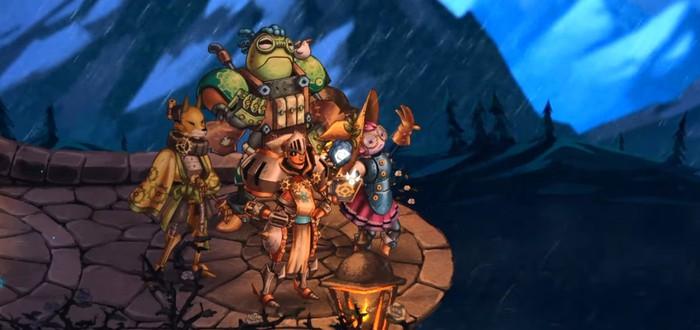 Релизный трейлер карточного спин-оффа SteamWorld Quest: Hand of Gilgamech
