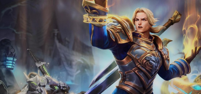 На тестовых серверах Heroes of the Storm появился новый герой — Андуин