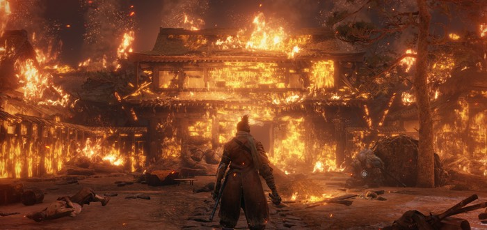 "Игрок прошел Sekiro: Shadows Die Twice на ""барабанах"""