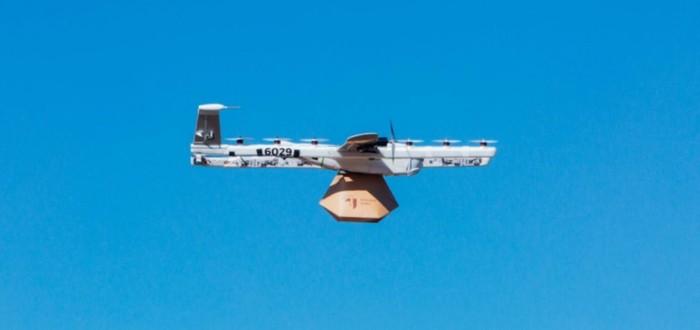 В США впервые выдали разрешение на доставку посылок дронами