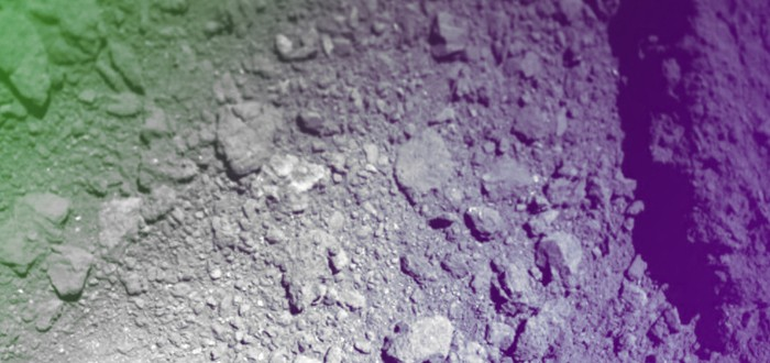 Япония показала фото кратера после бомбардировки астероида