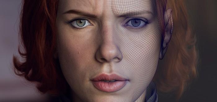 Реалистичная 3D-модель Черной вдовы от двух дизайнеров