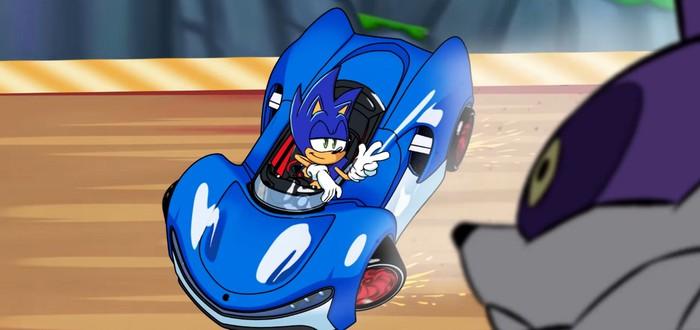 Sega выпустила мультфильм, посвященный грядущей Team Sonic Racing