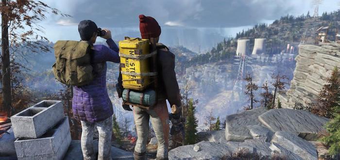 Обновление Fallout 76 добавит рюкзаки и Скаутов