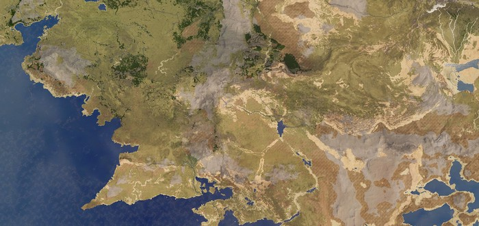 Моддер воссоздал карту Средиземья в Imperator: Rome