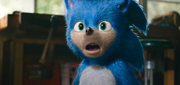 Дебютный трейлер фильма Sonic the Hedgehog