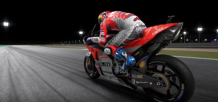 Первый геймплейный трейлер MotoGP 19