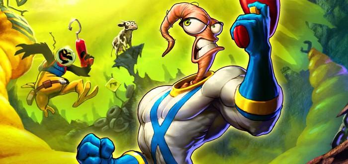 Новая игра про Червяка Джима анонсирована для ретро-консоли Amico