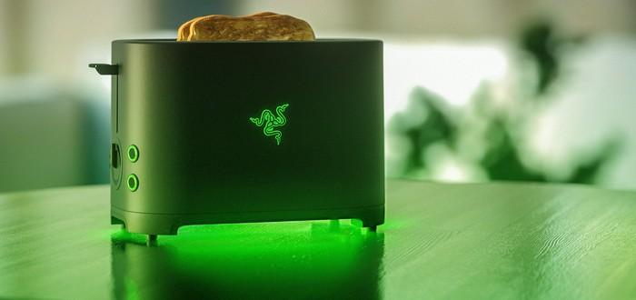 Спустя 3 года шуток Razer выпустит собственный тостер для хлеба