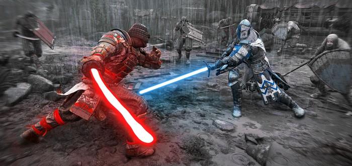 """В For Honor появились """"световые"""" мечи из Star Wars"""