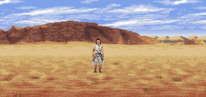 """Аниматор выпустил 16-битную версию тизера девятого эпизода """"Звёздных войн"""""""