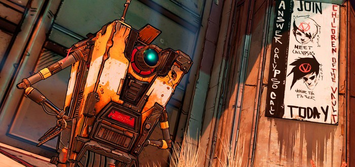 Игрок сравнил озвучку и внешний вид Железяки из трех частей Borderlands