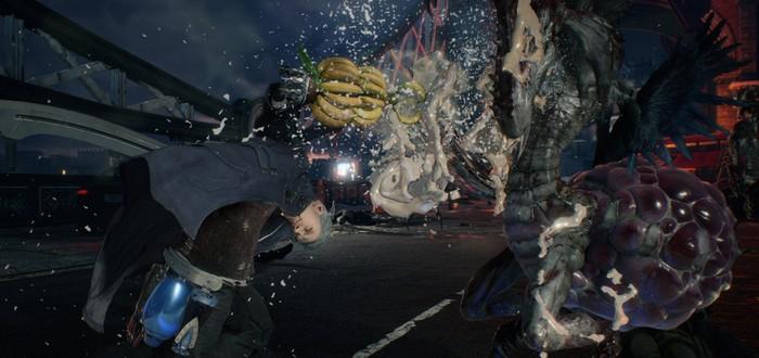 Для Devil May Cry 5 вышло бесплатное DLC с протезом для Неро из бананов