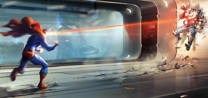 Арты отмененной игры про Супермена —с Думсдэем, Зодом и Дарксайдом