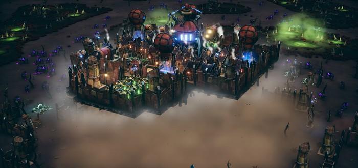 Стройте летающие города и защищайтесь от орд монстров в стратегии Dream Engines: Nomad Cities