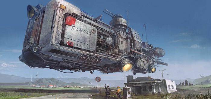 Фантастические миры художника Джиан Су