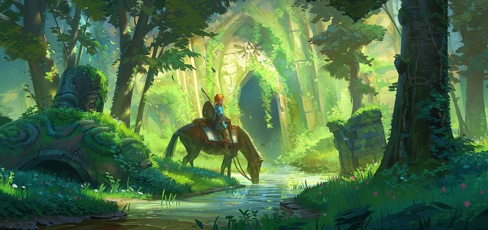 Энтузиаст создал первое подземелье для The Legend of Zelda: Breath of the Wild