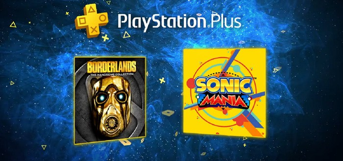 В июне будет щедрый PS Plus: Sonic Mania и Borderlands: The Handsome Collection