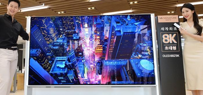 LG начнет продавать первые в мире 8K OLED TV на этой неделе