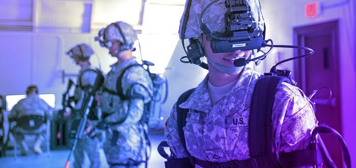 Киберпанк в армии: От бионических рук и тренировок в VR до рельсотрона и снайперских винтовок