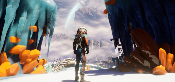 Очень много геймплея адвенчуры Journey to the Savage Planet