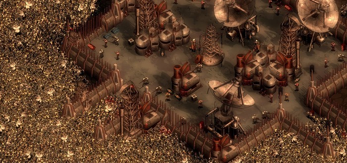 Строительство новой империи в трейлере кампании They Are Billions