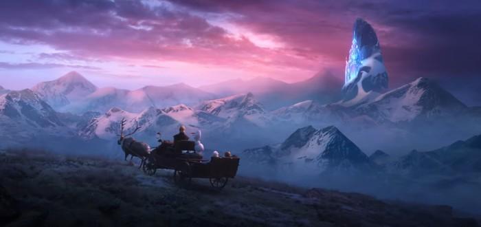 """Первый полноценнный трейлер анимационного фильма """"Холодное сердце 2"""""""