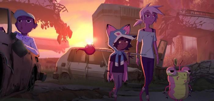 Гигантский воробей в тизере мультсериала Kipo and The Age of Wonderbeasts