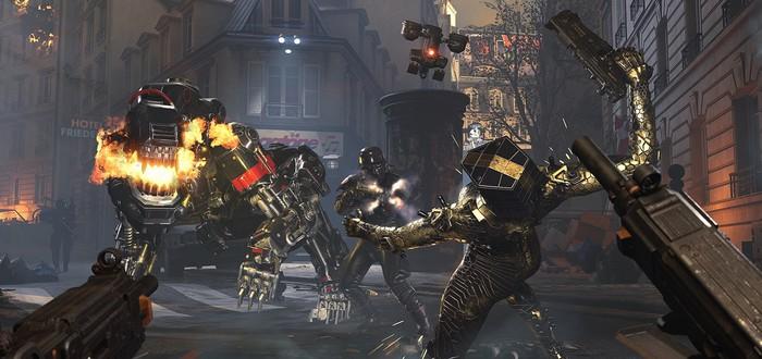 Горящий Париж и уничтожение нацистов в геймплее Wolfenstein: Youngblood
