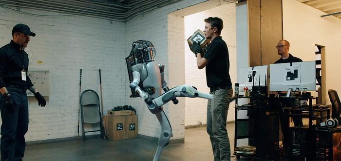 Фейк: Новый робот Boston Dynamics научился избивать людей