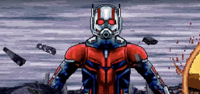 """Битву с Таносом из """"Мстителей: Финал"""" воссоздали в 16-битном стиле"""