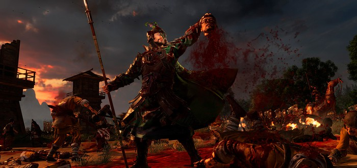 Кровища для Total War: Three Kingdoms выходит 27 июня
