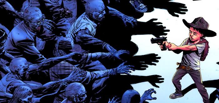 """Комикс """"Ходячие Мертвецы"""" неожиданно закончится на 193 выпуске"""