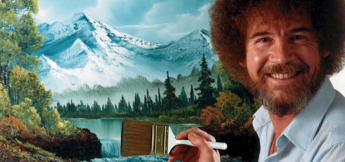 Геймер воссоздал картину Боба Росса в Minecraft