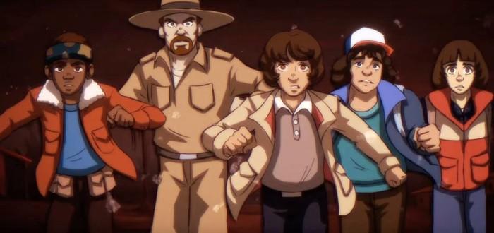 """""""Очень странные дела"""" воссоздали в стиле аниме 80-х"""