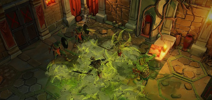 Тактические сражения в глубоких подземельях в геймплейном трейлере Gloomhaven