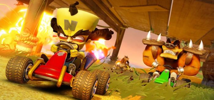 Crash Team Racing Nitro-Fueled стала самой продаваемой игрой в европейском PS Store за июнь
