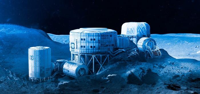 Россия планирует напечатать свою лунную базу на 3D-принтере