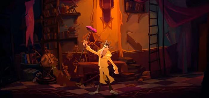Говорящий кот и мистические тайны в трейлере классического квеста Gibbous: A Cthulhu Adventure
