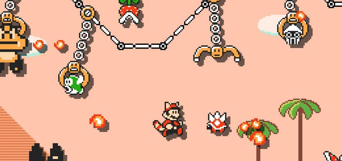 """Мона Лизу"" нарисовали в Super Mario Maker 2"