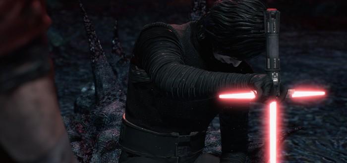 Моддер заменил трость Ви из Devil May Cry 5 на меч Кайло Рена
