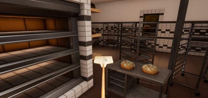 Выпекание хлеба и доставка заказов в трейлере Bakery Simulator