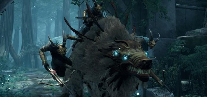 Сражения с многочисленными врагами в геймплее Remnant: From The Ashes