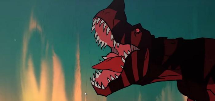 SDCC 2019: Кровавый отрывок из мультсериала Primal от Дженнди Тартаковски