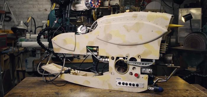 """Адам Сэвидж и его команда собрали ZF-2 — полностью рабочую версию пушки из """"Пятого элемента"""""""