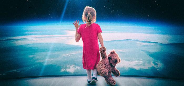 Биолог считает, что рождённые в космосе дети не будут похожи на обычных людей