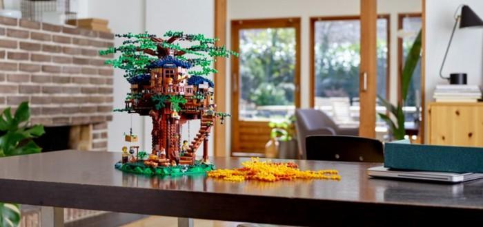Дом на дереве — новый набор Lego Ideas со сменой времени года